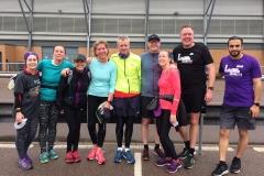 Sunday group run on 03/03/2019
